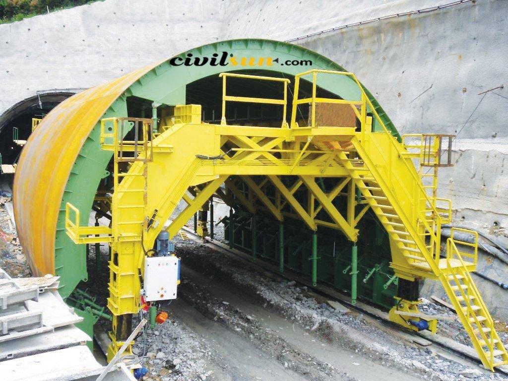 قالب لاینینگ تونل